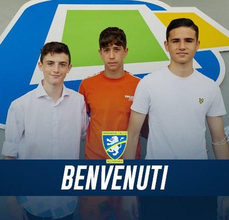 Tre giovani promesse entrano in Accademia